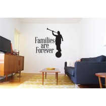 Families Are Forever Vinyl Decal